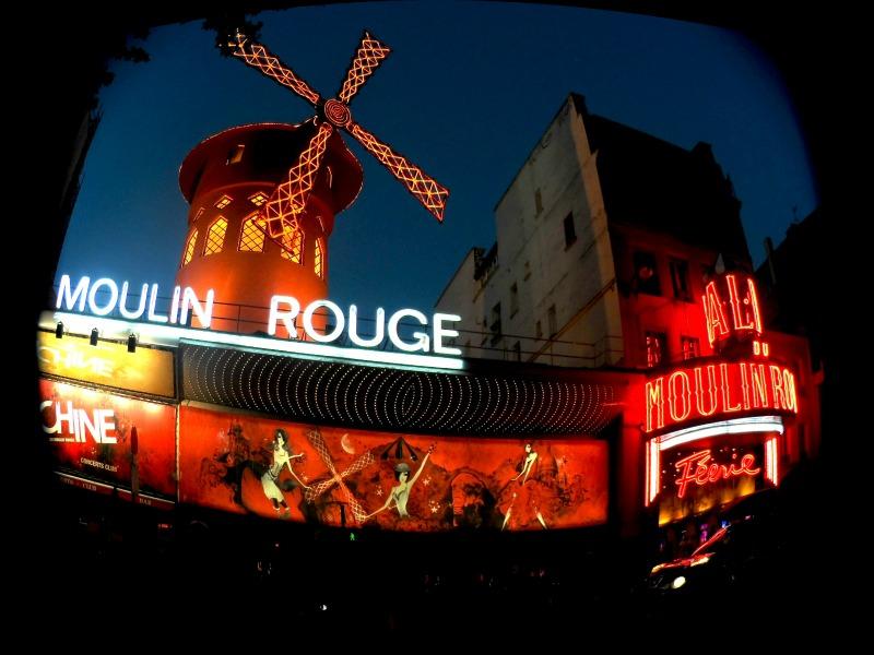 Glamour de Moulin Rouge.