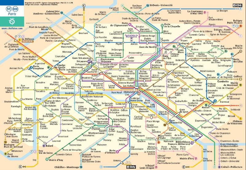 O mapa é distribuído nos balcões de informação das estações e também pode ser encontrado no site da RATP (www.ratp.fr/en/ratp/r_90747/visit-paris-by-metro/).